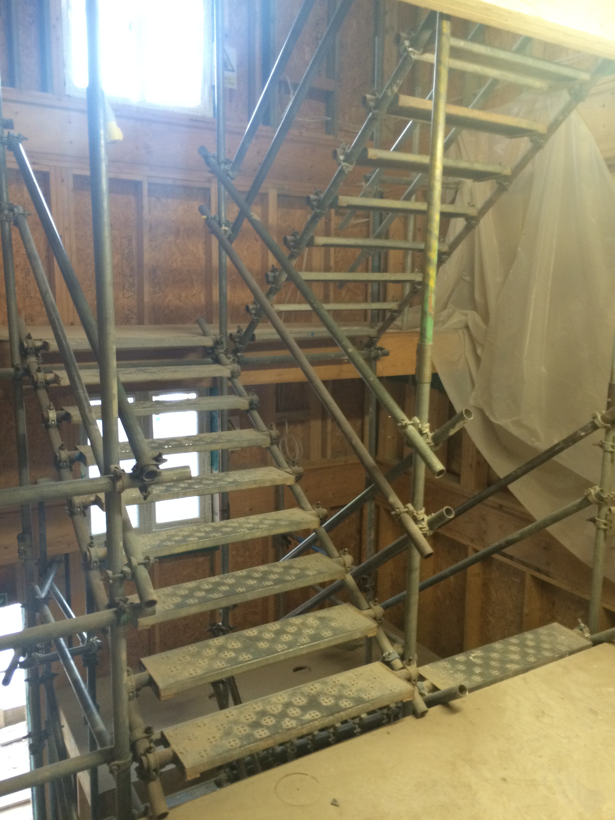 Castleoak Stratton Internal Temporary Staircase